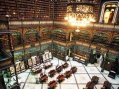 bibliotecas mais bonitas do mundo - Sala de leitura real portuguesa, Rio de Janeiro