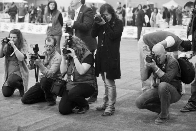 influência da guerra na fotografia