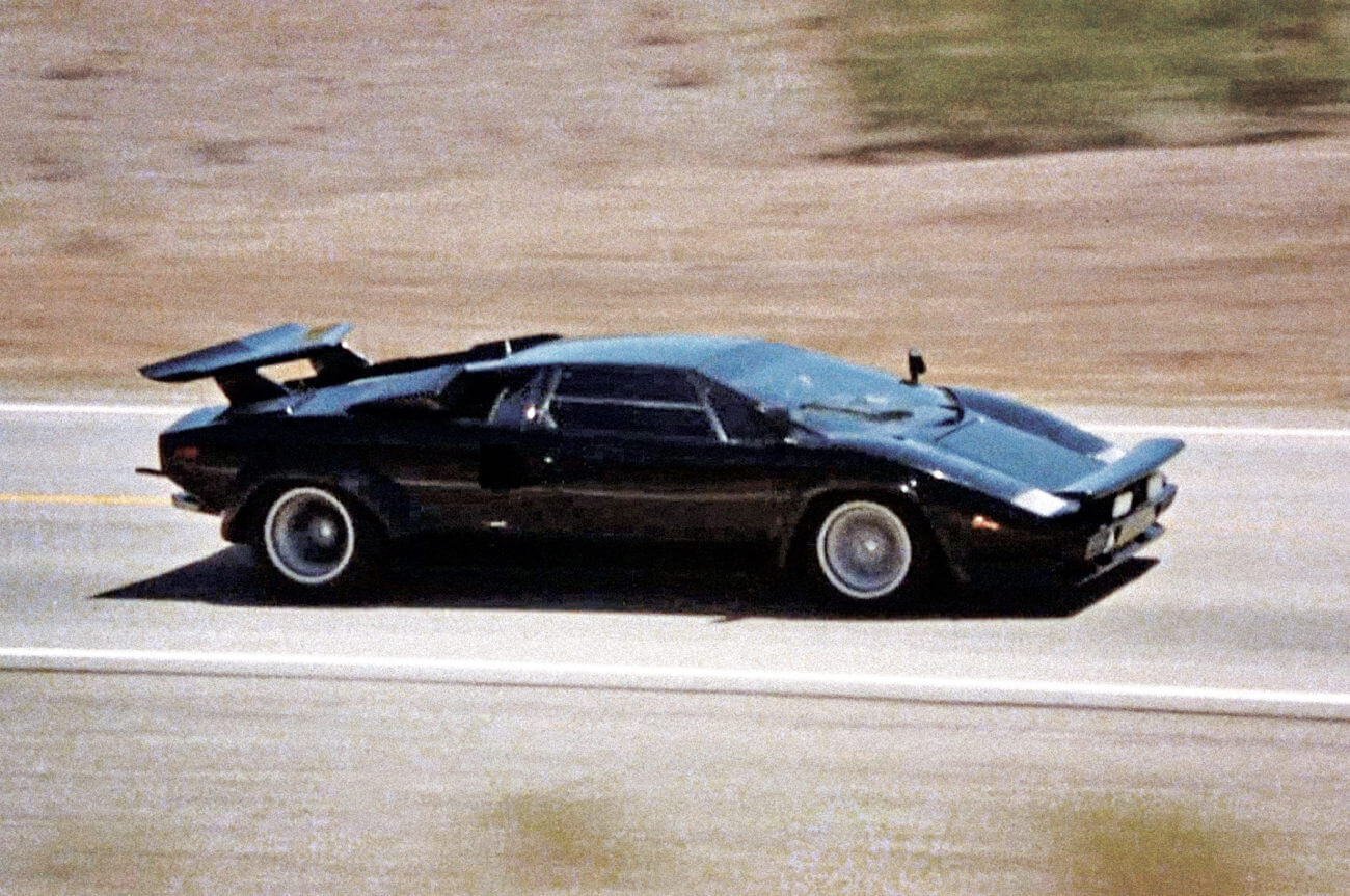 Carros mais famosos do cinema lamborghini