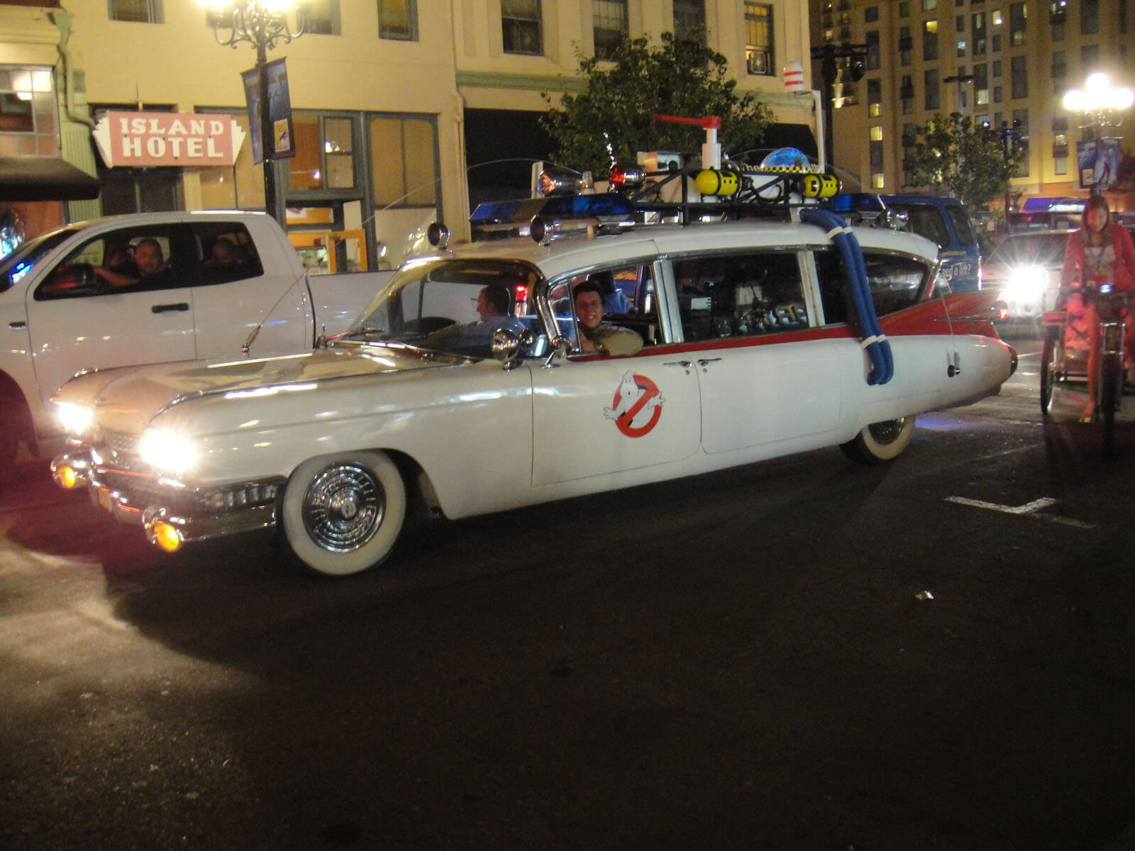 Carros mais famosos do cinema ecto 1