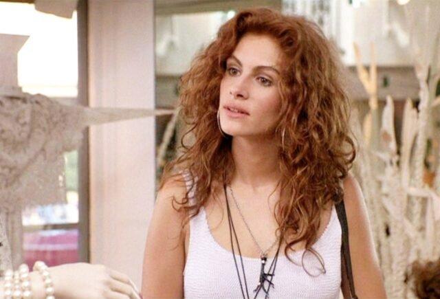 penteados que fizeram sucesso no cinema - julia roberts - um alinda mulher