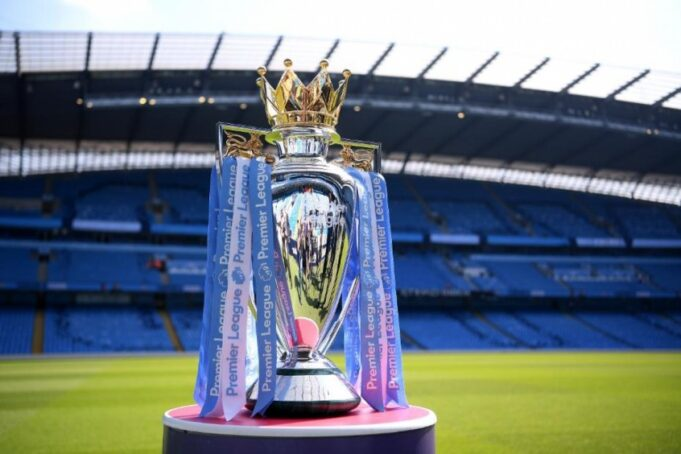 premier league - troféu